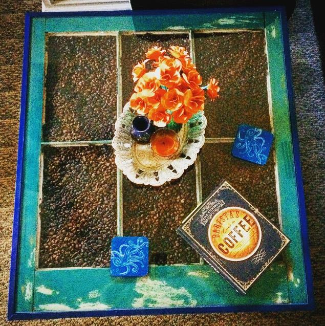 Boho Coffee Table DIY